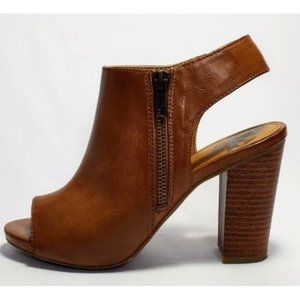 Fergalicious Ankle open toe booties size 6.5